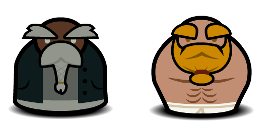 Example dwarf in-game characters